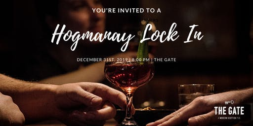 Hogmanay at The Gate