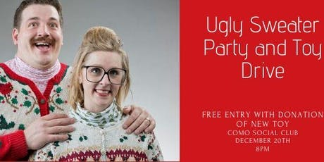 Toy Drive and Ugly Sweater Party tickets