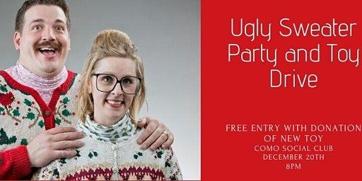 Toy Drive and Ugly Sweater Party