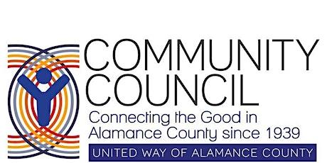 Community Council January 7, 2020 tickets
