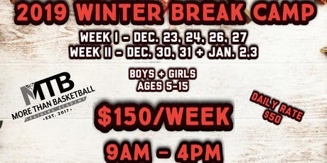 MTB 2019 Winter Break Camp tickets