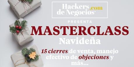 Master Class: 15 cierres de Venta, manejo de Objeciones y más entradas