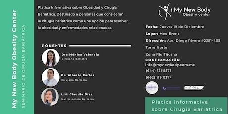 Platica Informativa sobre Cirugía Bariátrica entradas