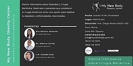 Platica Informativa sobre Cirugía Bariátrica
