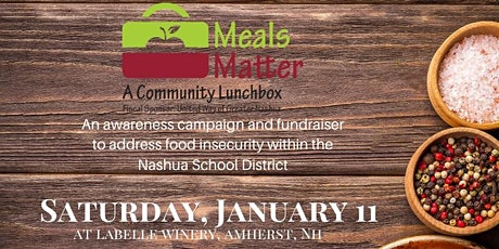 2nd Annual Meals Matter Gala Sponsored by LaBelle Winery tickets
