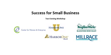 CWE Rhode Island - Success for Small Business (Tue & Thurs) tickets