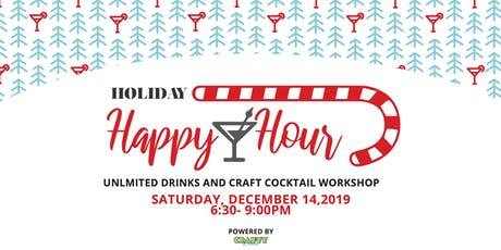 Holiday Happy Hour | Craft Cocktail Workshop tickets