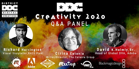 Creativity 2020 Q&A Panel Discussion w/  PRO Industry Leaders. tickets