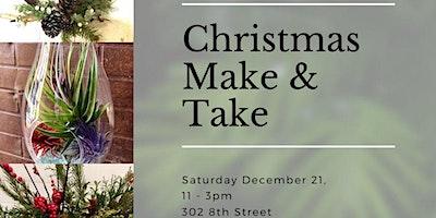 Christmas Make and Take FUN