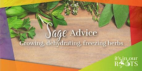 Sage Advice ~ June 16th tickets