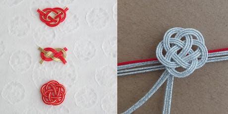 Mizuhiki (Japanese Embellishment Cords) Art Workshop (Beginner Level) tickets