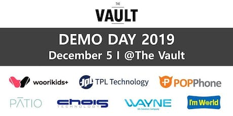 The Vault Korea-SF 2019 Demo Day tickets