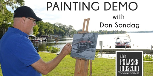 Painting Demonstration with Don Sondag