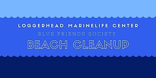 Blue Friends Society December Beach Cleanup