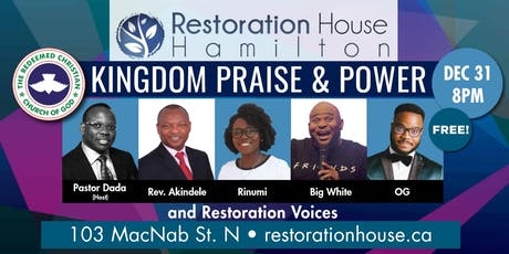 Kingdom Praise and Power: New Year's Eve at RHH! tickets