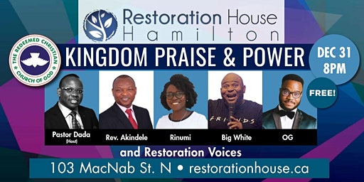 Kingdom Praise and Power: New Year's Eve at RHH!
