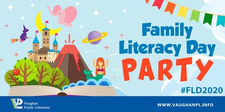 Family Literacy Day Party! tickets