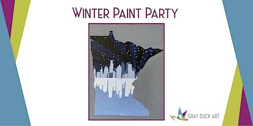 Minneapolis Skyline Paint Party