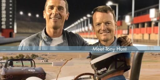 "Meet ""Ford v Ferrari"" Stunt Driver Double Tony Hunt"