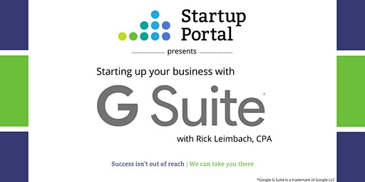 G Suite for Startups