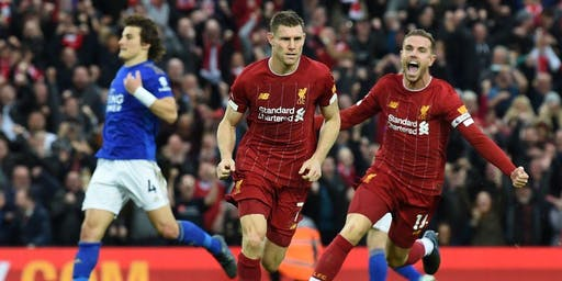 Leicester City v Liverpool  |  K/O 20:00  |  U18s permitted  |  @ The Monty