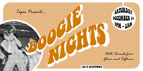 BOOGIE NIGHTS presented by TAPES tickets