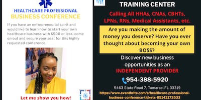 Healthcare Professional Business Conference