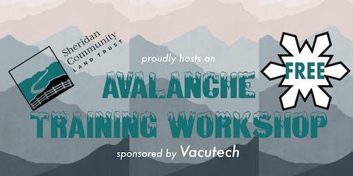 Avalanche Training Workshop