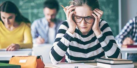 Anxiété et examens: comment y faire face et diminuer la pression billets