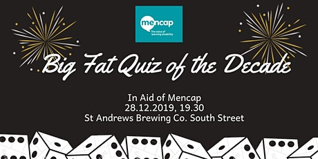 Big Fat Quiz of the Decade in Aid of Mencap tickets
