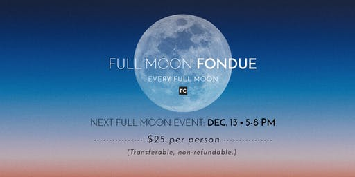 Full Moon Fondue Night at Freehand Cellars