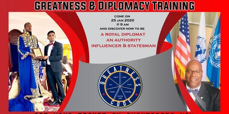Diplomacy and Leadership Training tickets