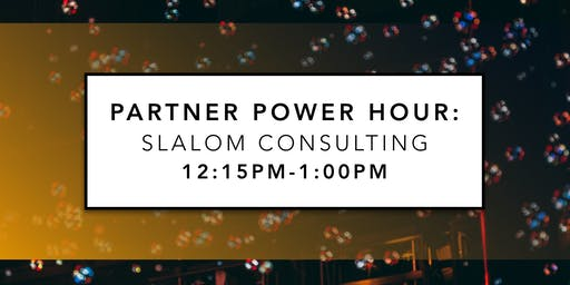 Partner Power Hour: Slalom Consulting