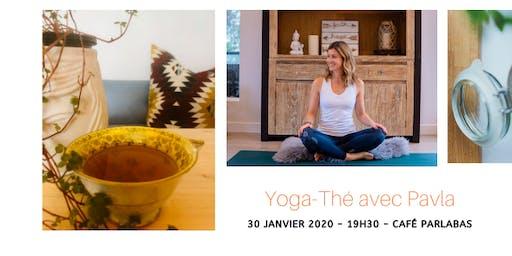 Yoga-Thé avec Pavla