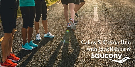 Cakes and Cocoa Run with JackRabbit and Saucony tickets