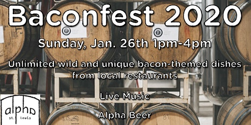 Alpha Brewing Baconfest 2020: SOLD OUT