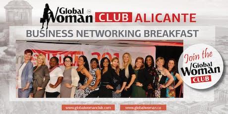 GLOBAL WOMAN CLUB ALICANTE: BUSINESS NETWORKING BREAKFAST - FEBRUARY tickets