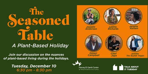 Talk About It Tuesday: The Seasoned Table - A Plant-Based Holiday