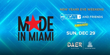 Rubber Duckie // Made in Miami // Daer Dayclub tickets