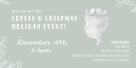 Coffee+Crispmas Holiday Event tickets