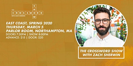 The Crossword Show w. Zach Sherwin  at The Parlor Room tickets