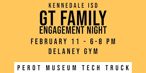 GT Family Engagement Night (K-6)