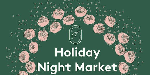 Holiday Night Market by Cafe Flora