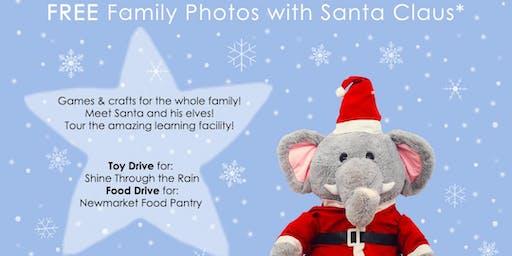 Free Family Photos with Santa!