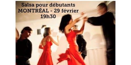MONTRÉAL - Danse SALSA - cours pour débutant 20$  billets