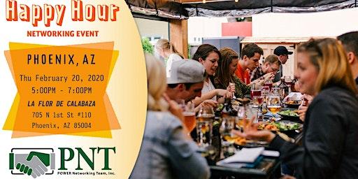 02/20/20 PNT Central Phoenix - Happy Hour Networking Event