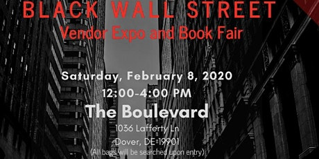 Black Wall Street Vendor Expo & Book Fair tickets