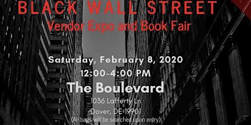 Black Wall Street Vendor Expo & Book Fair