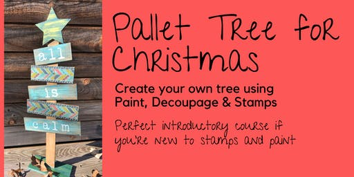 Paint Therapy - Pallet Christmas Tree