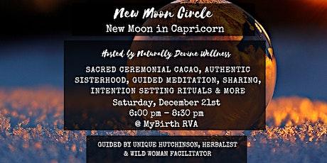 New Moon Circle RVA - December New Moon in Capricorn tickets